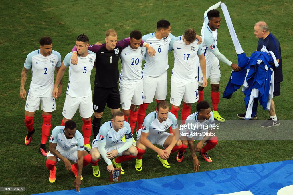 Football - UEFA EURO 2016 - Round of 16  - England v Iceland : ニュース写真