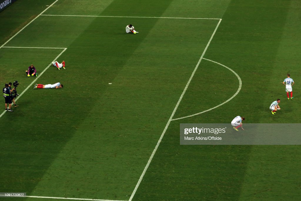 Football - UEFA EURO 2016 - Round of 16  - England v Iceland : Fotografía de noticias