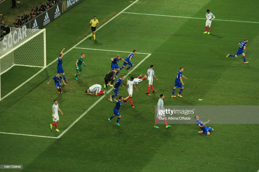 Football - UEFA EURO 2016 - Round of 16  - England v Iceland : News Photo