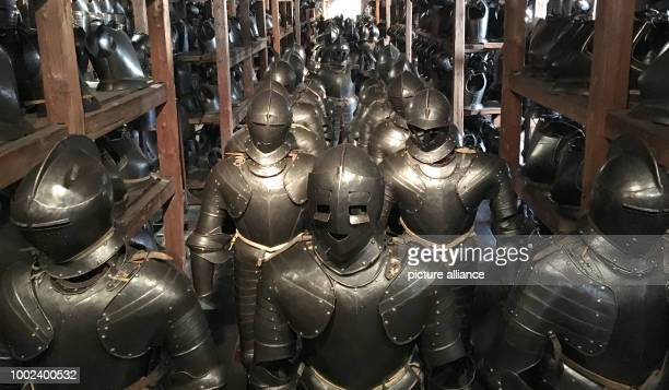 Numerous armours in the Styrian Armoury Soldiers defending the Habsburg lands against the attacks of the Turks were once outfitted with the weapons...