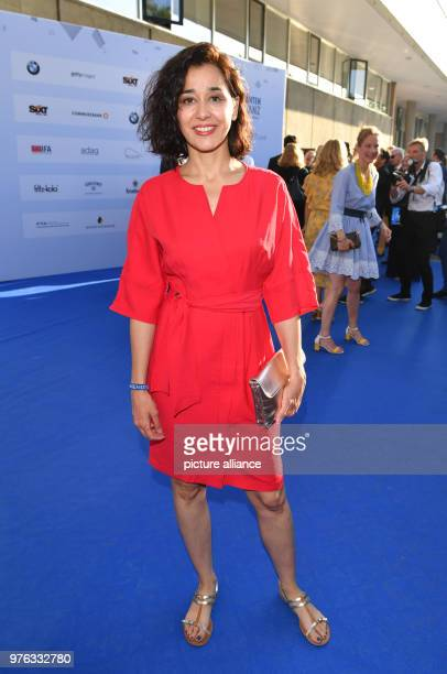 Hungarian actress Dorka Gryllus arriving to the Producers' Festival The Producers' Alliance is hilding its 10th Summer Festival in the Haus der...