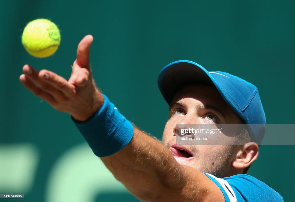 Tennis: ATP-Tour in Halle/Westfalen : News Photo