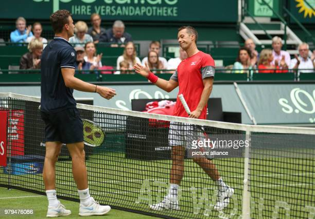 Tennis ATPTour Singles Men First Round Marton Fucsovics from Hungary is injured on the pitch in the game against Kohlschreiber from Germany Photo...