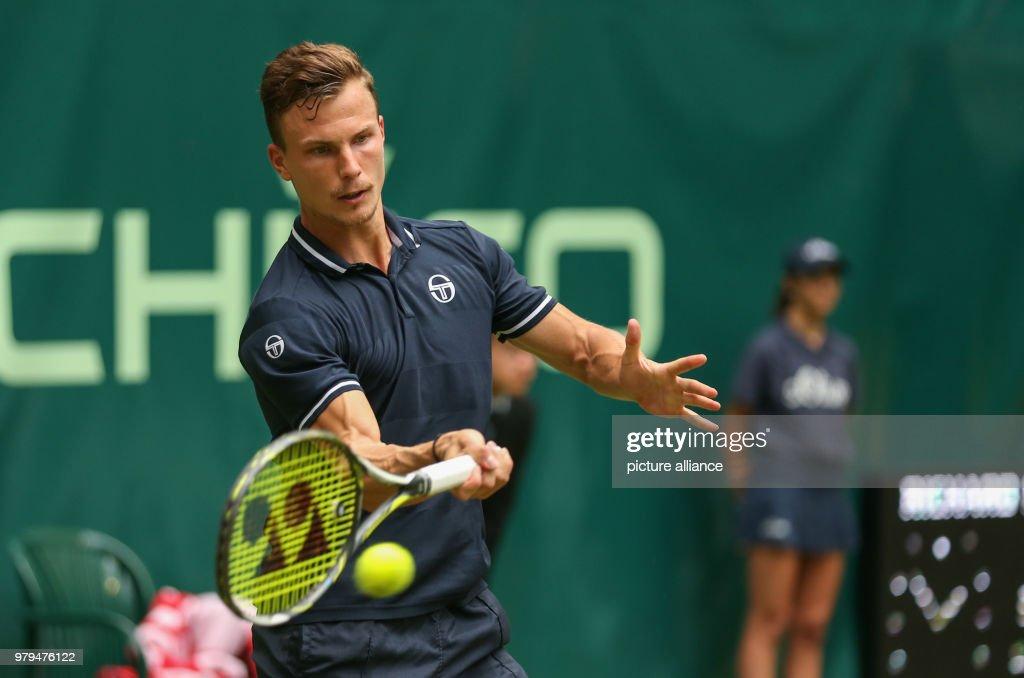 Tennis: ATP Tour  at Halle, Westphalia : News Photo