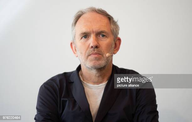 The Dutch photographer Anton Corbijn at a press conference at the Bucerius Arts Forum on the occasion of the exhibition 'Anton Corbijn The Living and...