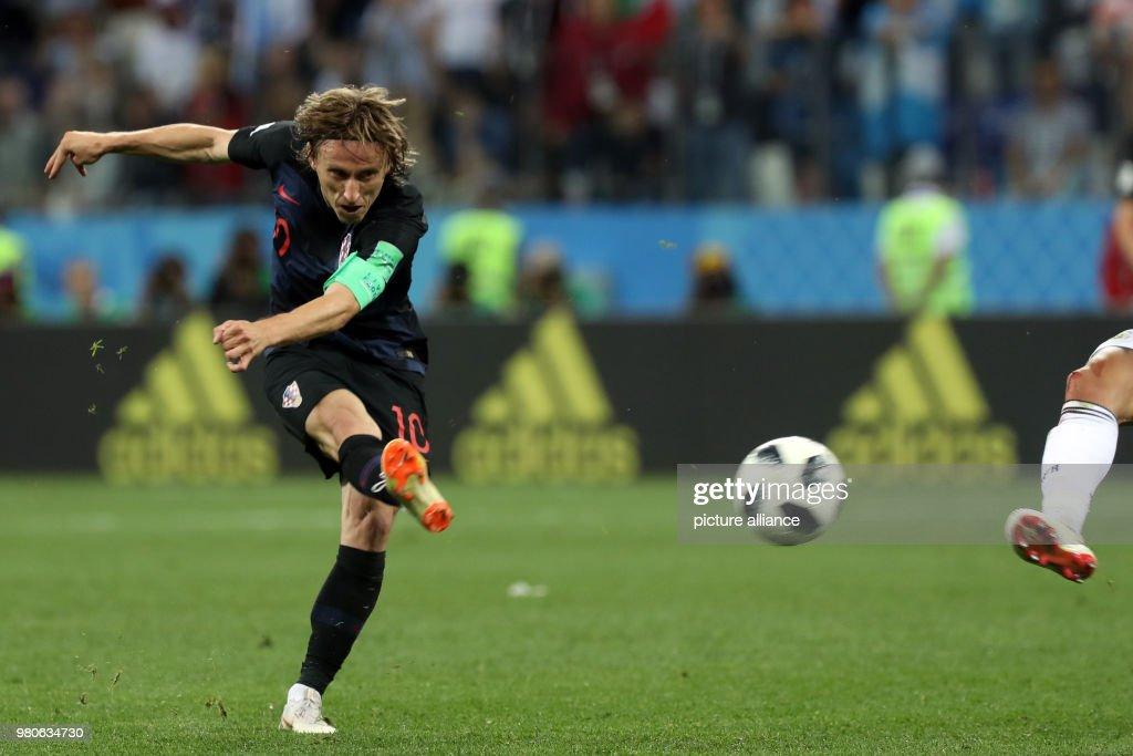 World Cup 2018 - Argentina vs. Croatia : ニュース写真