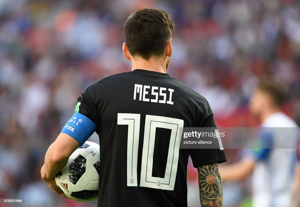 FIFA World Cup 2018 - Argentina vs Iceland : News Photo