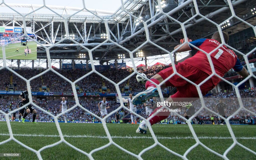 FIFA World Cup 2018 - Argentina vs Iceland : News Photo