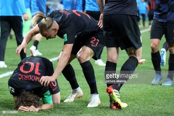 21 June 2018 Russia Nizhny Novgorod Soccer World Cup Argentina vs Croatia preliminary round Group D 2nd match day in the Nizhny Novgorod Stadium...