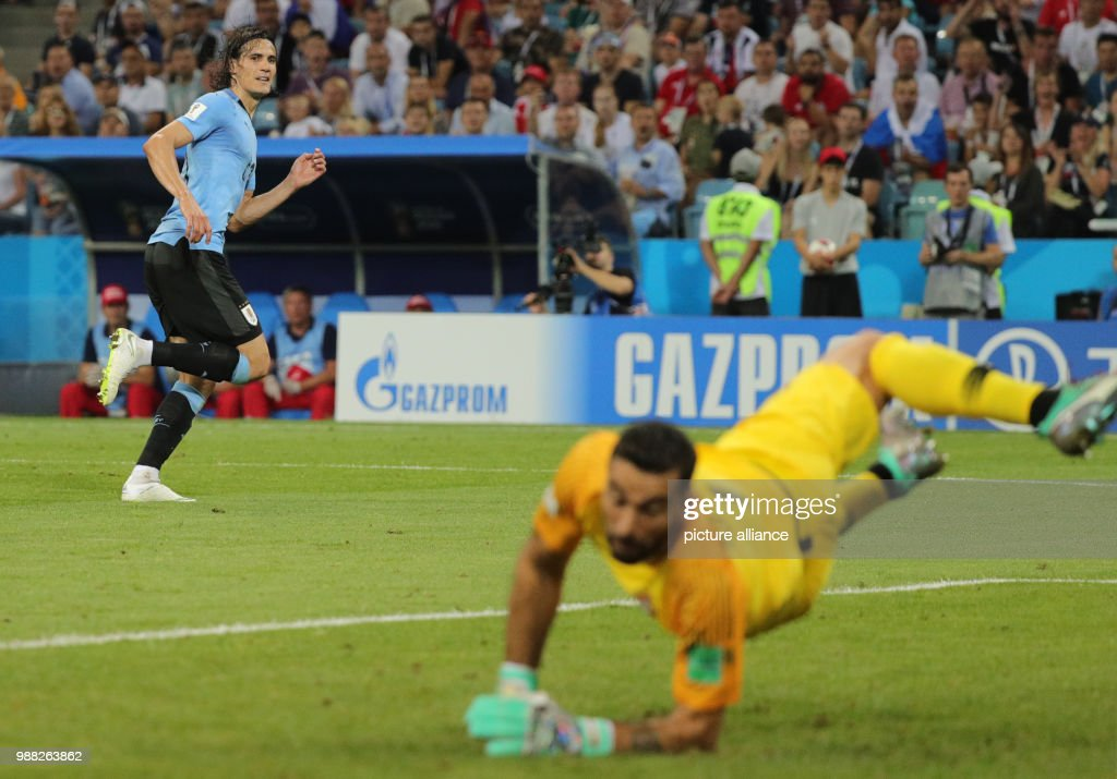 World Cup 2018 - Uruguay vs Portugal : News Photo