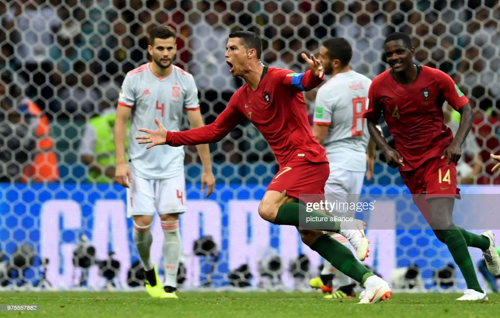 FIFA World Cup 2018: Portugal vs Spain : News Photo