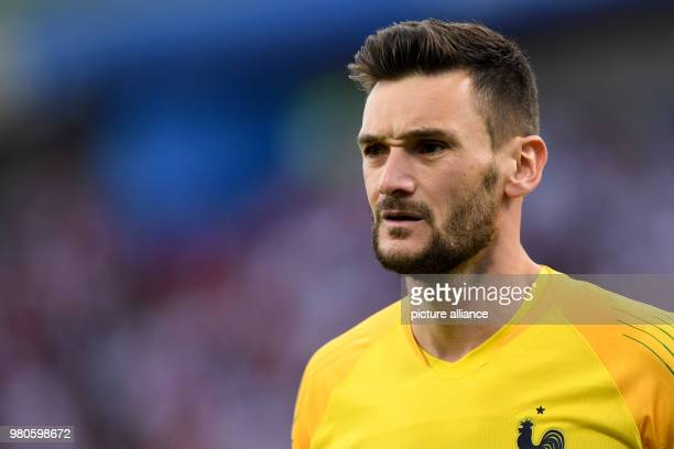 21 June 2018 Russia Yekaterinburg Soccer World Cup 2018 France vs Peru Preliminary round group C Second game day at the Yekaterinburg arena France's...