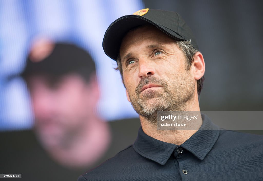 Us Actor Patrick Dempsey Visits The Sportscar Together Day By