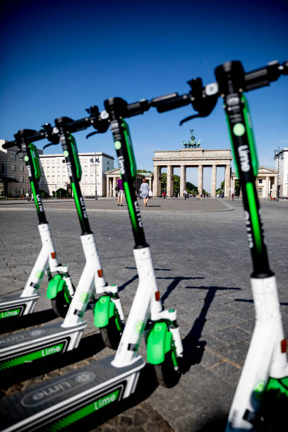 DEU: E-Scooter Rentals Open In Berlin