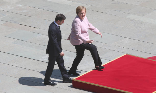 DEU: Ukrainian President Selensky In Berlin