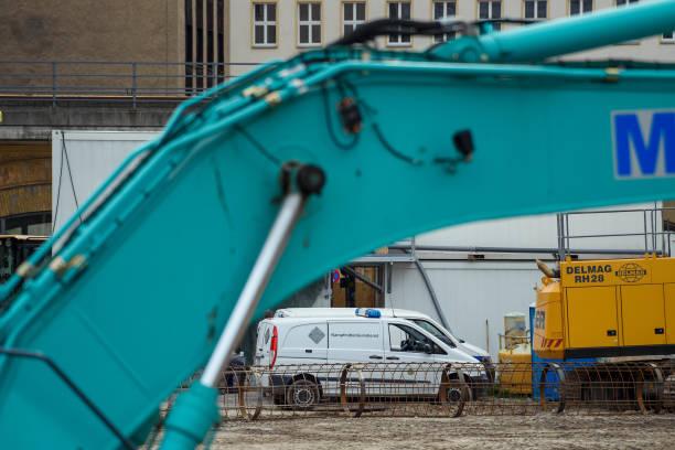 DEU: World War II Bomb At Berlin Alexanderplatz
