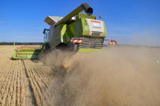 DEU: Grain Harvest Begins