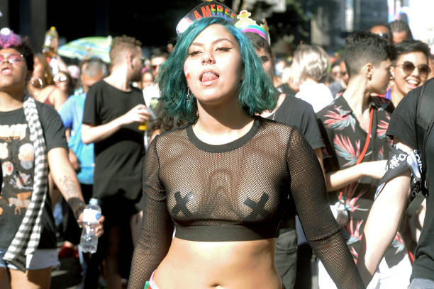 BRA: Gay Parade In Sao Paulo