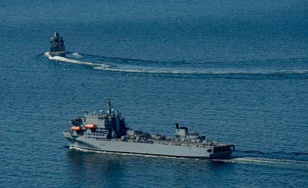 DNK: Nato Manoeuvre Baltops On The Baltic Sea