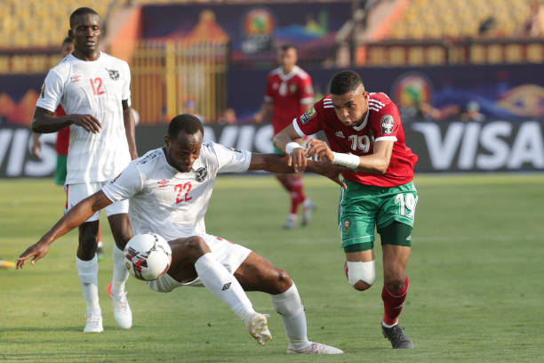 EGY: 2019 Africa Cup of Nations Morocco VS Namibia