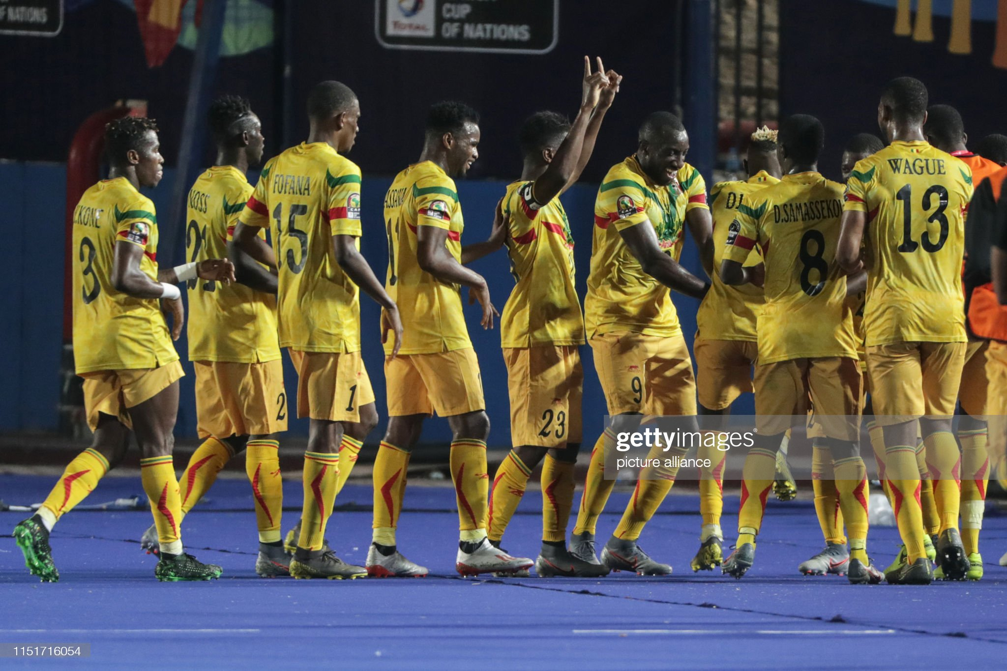 2019 Africa Cup of Nations  Mali vs Mauritania : Photo d'actualité