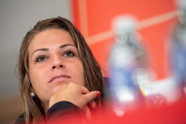 FRA: Women's Football World Cup - Press Conference Germany
