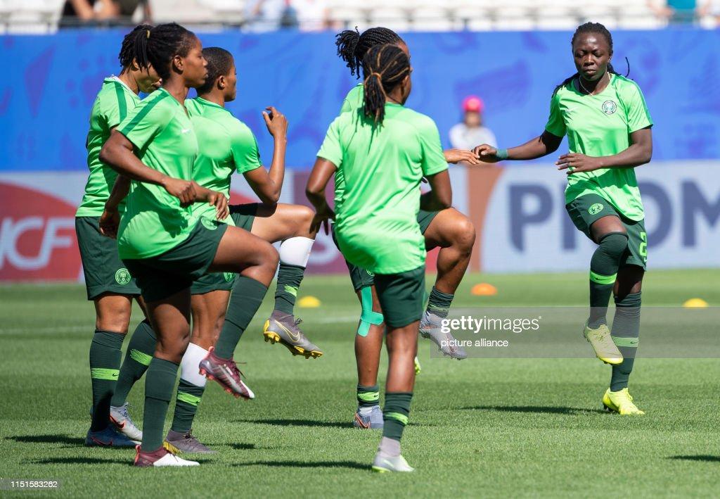 Women's Football World Cup - Germany - Nigeria : News Photo