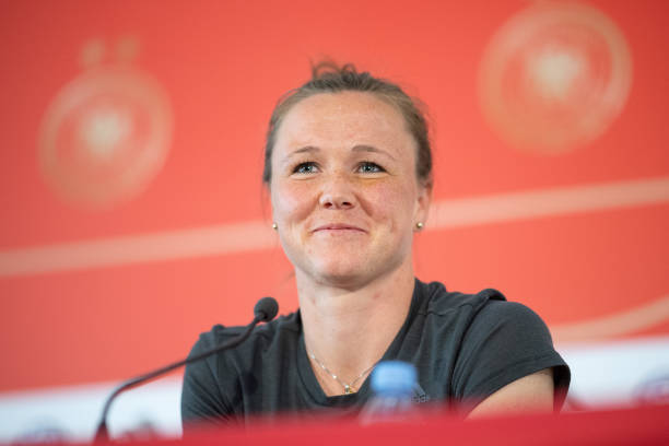 FRA: Women's Football World Cup - Press Conference German Team