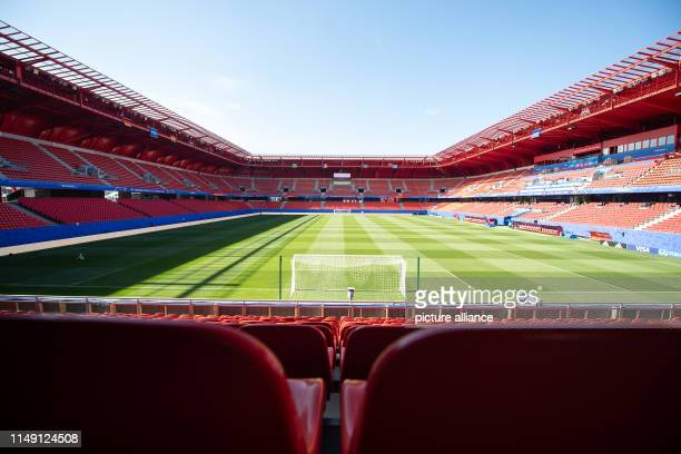 11 June 2019 France Valenciennes Football women World Cup national team The Stade du Hainaut The next match of the German women's national team will...