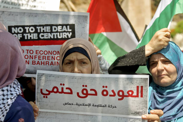 LBN: Protest Against Bahrain Summit On Palestine Economy In Beirut