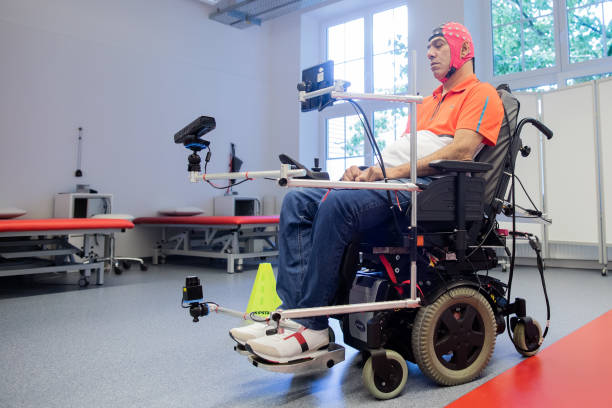 DEU: Wheelchairs Steerable By Mind Control
