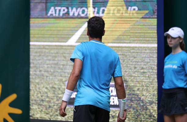 DEU: ATP Tournament In Halle