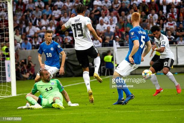 11 June 2019 RhinelandPalatinate Mainz Soccer European Championship qualification Germany Estonia Group stage Group C 4th matchday in the Opel Arena...