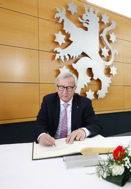DEU: EU Commission President Juncker In Thuringian Parliament