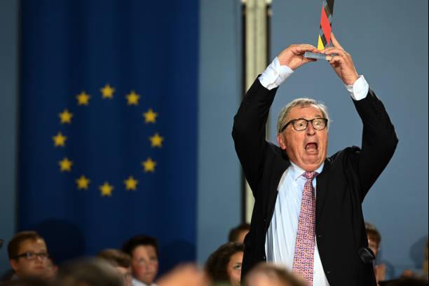 DEU: Point Alpha Prize For Jean-Claude Juncker