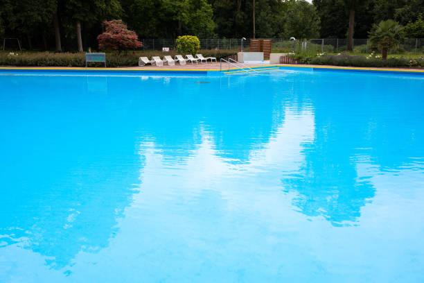 DEU: Coronavirus - Open-Air Pools Prepare For Opening