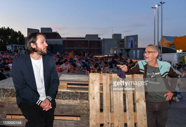 """Actor Dimitrij Schaad and director Dani Levy come to the Arte Sommerkino Kulturforum for the open-air premiere of """"The Kangaroo Chronicles reloaded""""...."""