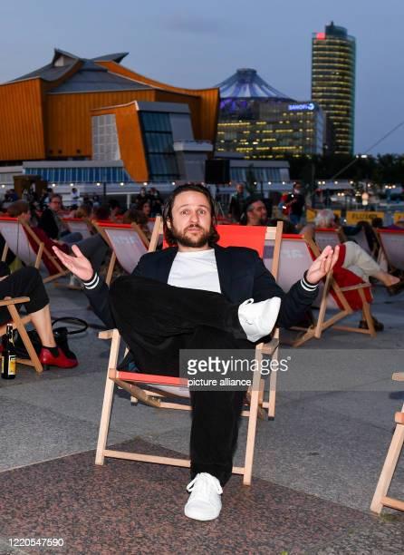 "Actor Dimitrij Schaad comes to the open-air premiere ""Die Känguru-Chroniken reloaded"" at the Arte Sommerkino Kulturforum at Potsdamer Platz. A new..."
