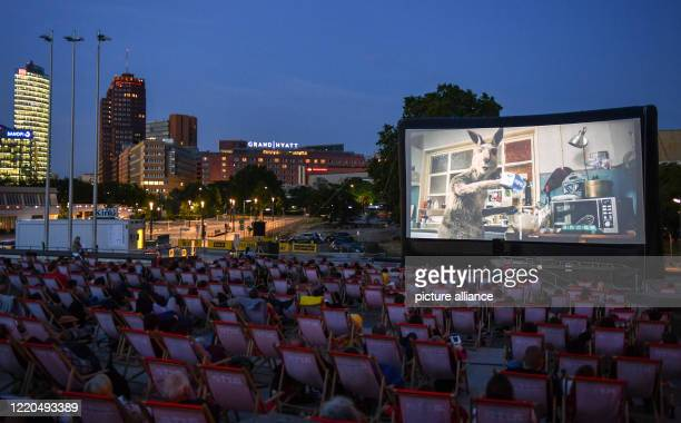 "At an open-air premiere at the Arte Sommerkino Kulturforum on Potsdamer Platz, the German cinema film ""Die Känguru-Chroniken reloaded"" will be shown...."