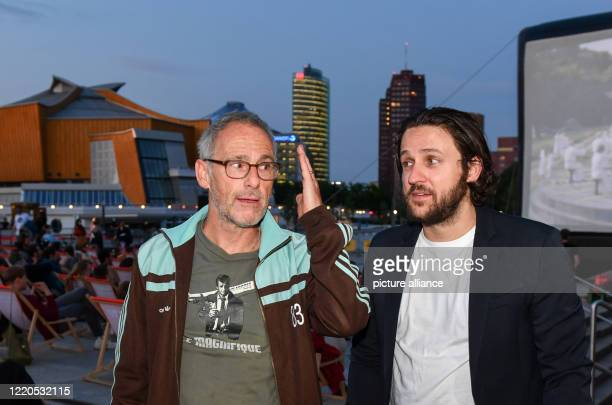 """Director Dani Levy and leading actor Dimitrij Schaad come to the Arte Sommerkino Kulturforum for the open-air premiere of """"The Kangaroo Chronicles..."""