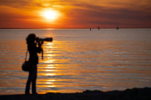 DEU: Evening Mood At The Baltic Sea
