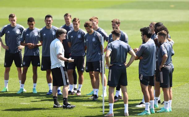 DEU: European Football Championship - Final Training Germany