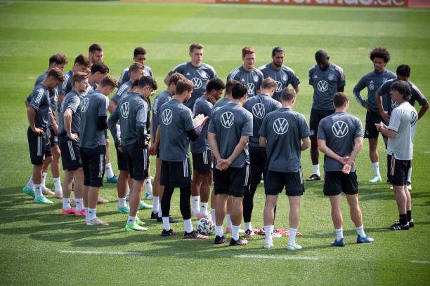 DEU: European Football Championship - Training German National Football Team
