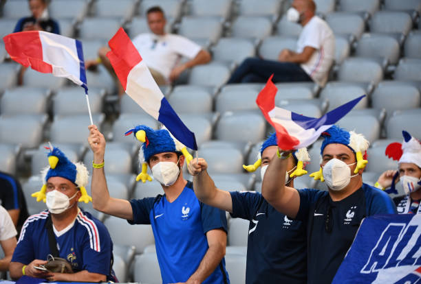 DEU: European Football Championship - France - Germany