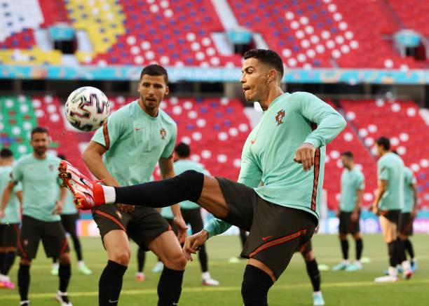 DEU: European Football Championship - Final Training Portugal