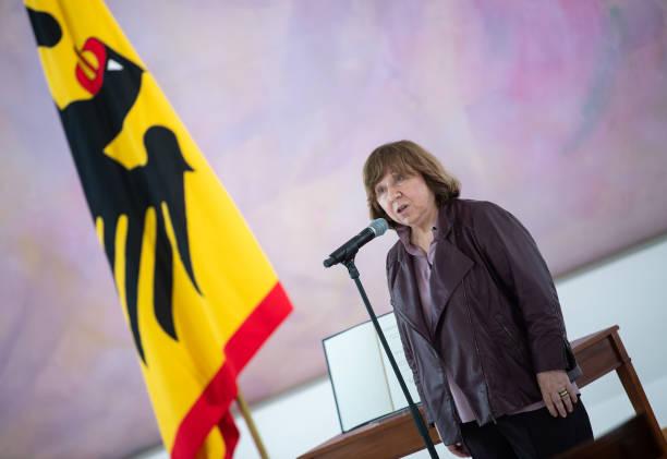 DEU: Federal Cross Of Merit For Svetlana Alexievich