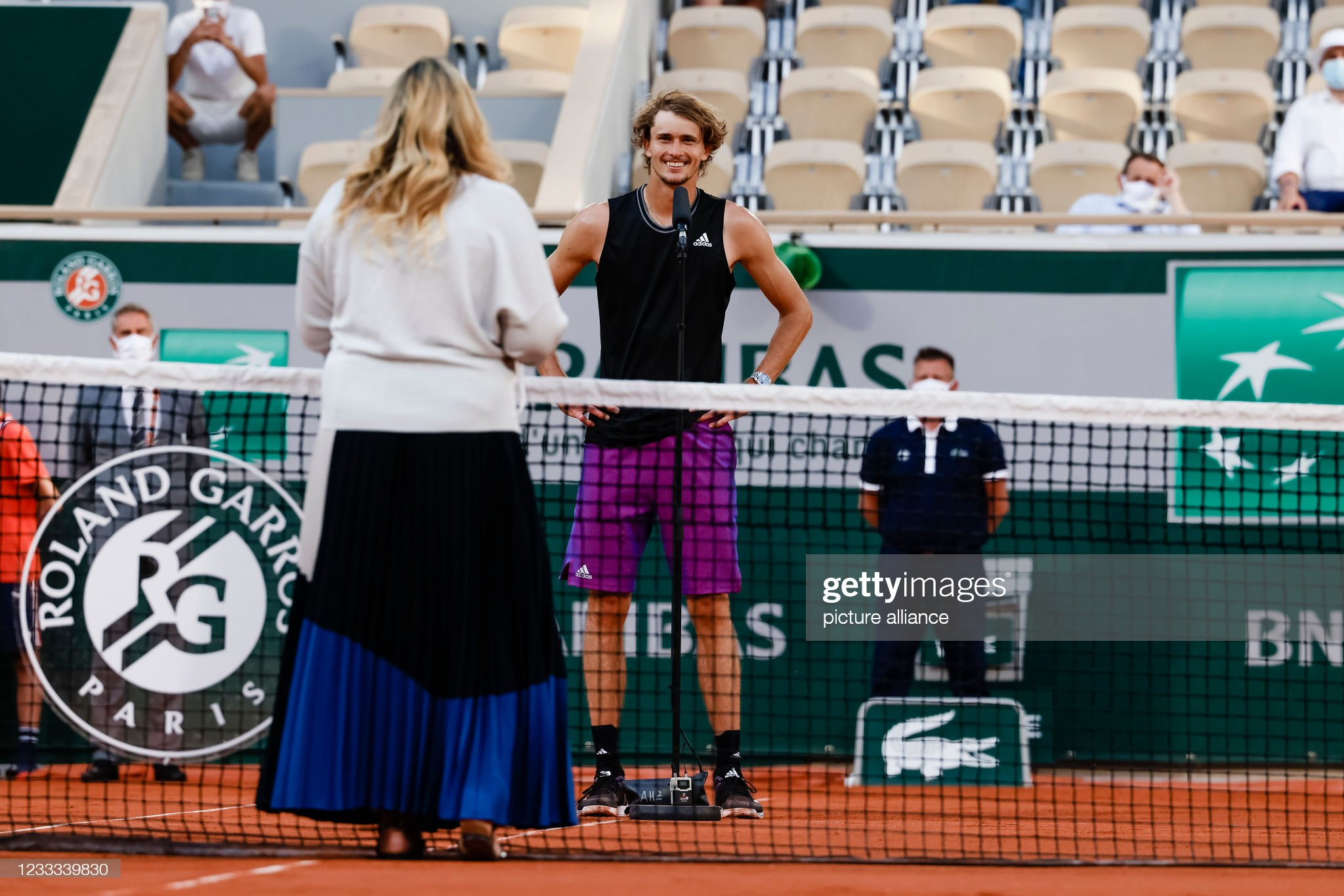 Tennis French Open : News Photo