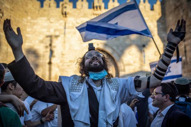 ISR: Flag March In Jerusalem