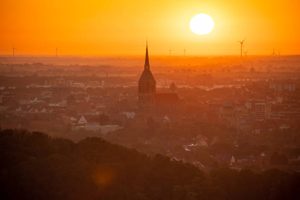 DEU: Sunrise Over Germany