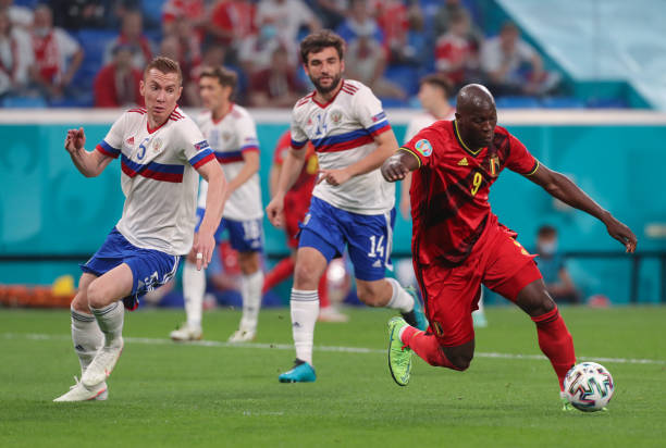 RUS: European Football Championship - Belgium - Russia